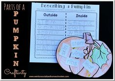 Parts of a Pumpkin Craft   Activity {Free Printable}