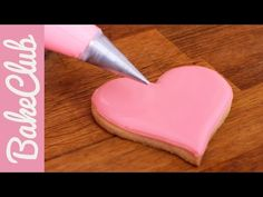 Royal Icing - Outlining & Flooding | BakeClub - YouTube