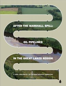 National Wildlife Federation analyzes federal and state laws in around oil pipelines in the Great Lakes region.