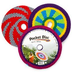 Play a fun game of catch with the family with Pocket Disc! http://www.mastermindtoys.com/Pocket-Disc-Sport-Assorted.aspx