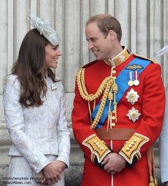 Kate and Wills Trooping the Color