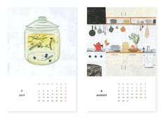 KURASHI&Trips PUBLISHING/カレンダー(2016) - 北欧雑貨と北欧食器の通販サイト  北欧、暮らしの道具店
