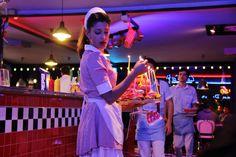 cameriera 1950 American Diner, Concert, Fun, Recital, Festivals, Funny, Hilarious