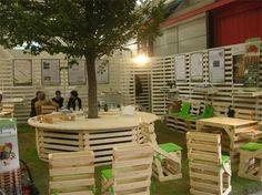 Arredamento pallets ~ Mobili tavoli sedie in pallet flab arredo pallet arredamento