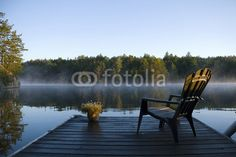 Quadro Canvas <br> (Morning Mist on the Bay)