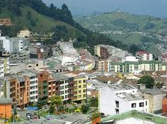 Manizales, Colombia.  We were there for 1 month  in 1980 - Karen Miller, Sue Miller and me.
