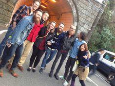 With the fantastic Pastors at New Hope Yokohama in Japan