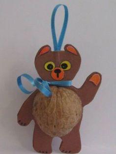Walnut shell craft ideas | funnycrafts                                                                                                                                                                                 More