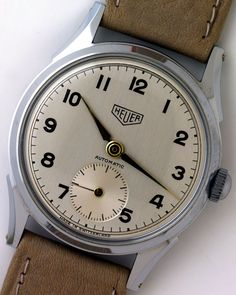 1955 Heuer Automatic Watch...Real beauty