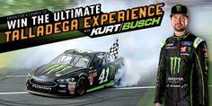 NASCAR Race Mom: Monster Energy® Chance to Win the Ultimate Kurt Bu...