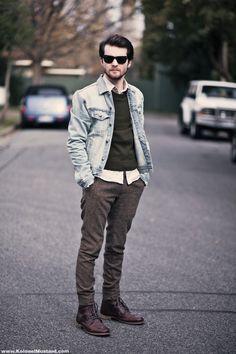 Ben from Kolonel Mustard styles the #CatFootwear Men's Abe boot.