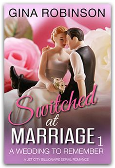This book is FREE on all vendors--The Switched at Marriage series stars Justin Green, Seattle's youngest billionaire and the city's most eligible nerd. And Kayla, the girl he asks to pretend to be his wife for a year.  Click on the image to take you to GinaRobinson.com were you can go to the book's page on Amazon, iBooks, Nook, Google Play, or Kobo and download for FREE.
