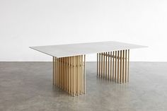Not only a desk... a piece of art : Leonard Desk by @atelier_damis on #theinvisiblecollection #designisart