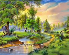 wallpaper desktop nature, 1280x1024 (448 kB)