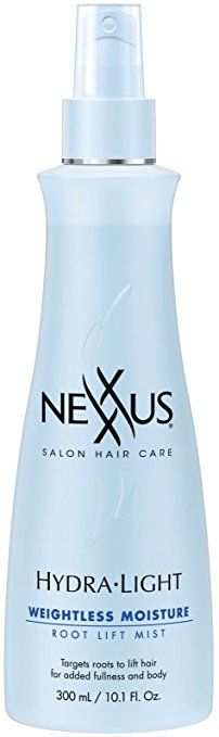 Nexxus Weightless Moisture Hydralight Root Lift Spray, Ounce: Targets roots to lift hair for added fullness and body Fine Curly Hair, Health And Beauty Tips, Beauty Care, Mists, Cool Things To Buy, Hair Care, Moisturizer, Hair Sprays, Amazon