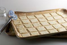 Buttery Crystal Diamond Cookies - Christmas 2012