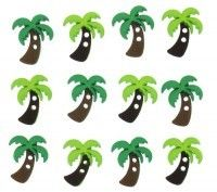 Sew Cute Palm Trees New (TP- 6935) RRP: $2.29  Now: $2.00