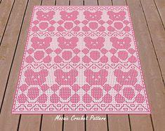 Free Crochet Doily Patterns, Mosaic Patterns, Crochet Doilies, Free Pattern, Baby Blanket Crochet, Crochet Baby, Knit Crochet, Tapestry Crochet, Filet Crochet