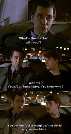 One of my favorite quotes from this film! Scent of a Woman