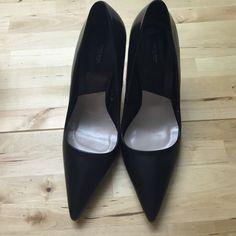 Zara Basic Black Stiletto Never worn. Euro 39 size us size 7.5 or 8 Zara Shoes Heels