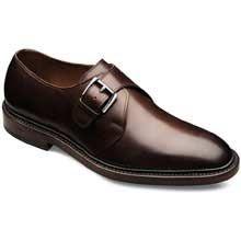 Norwich Plain-toe Monk Strap Mens Dress Shoes by Allen Edmonds