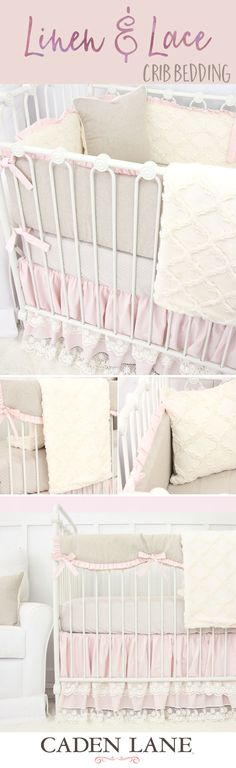 Create a gorgeous nursery for your baby girl with crib bedding that works in almost any setting!                                                                                                                                                                                 More