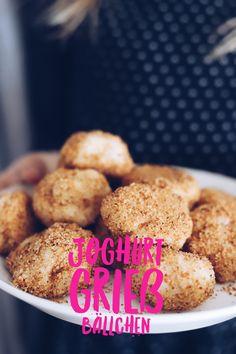 Joghurt Grieß Bällchen - schneller Nachtisch ohne Backen für große Mengen