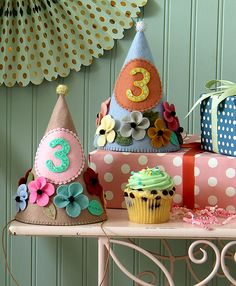 Prettiest Party Hats Sewing Kits and Pattern