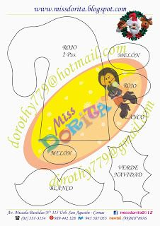 Miss Dorita corona molde 1