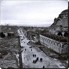 Edirnekapı yolu - 1958