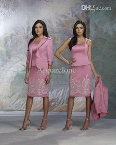 Wholesale 2015 Three Piece Suit 3/4 Sleeve Lined Jacket Embroidered Pattern Skirt And Bodice For Mother Of The Bride Satin Outfit Zy080 Mother Of The Bride Outfit Mother Of The Bride Suits From Apparelone, $124.97| Dhgate.Com