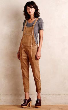 Mesa Cord Overalls #anthroregistry