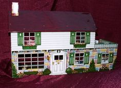 DOLLHOUSE WITH FURNITURE