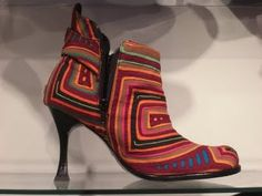 Mola Shoes...Panama handcraft of the Kuna indians