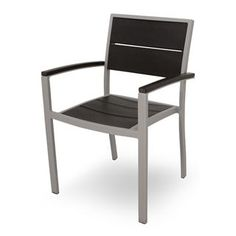 Trex Outdoor Furniture Txa210 Surf City Outdoor Dining Arm Chair