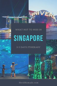 The Ultimate Singapore Itinerary days) with a day-by-day schedule of things to do in Singapore and all the top Singapore attractions. Singapore Vacation, Singapore Attractions, Singapore Travel Tips, Singapore Itinerary, Visit Singapore, Singapore Sights, Singapore Guide, Singapore Food, Singapore Sling