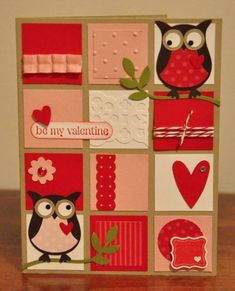 PP127 Be My Valentine Greeting Card by SnippetsByDesign - Cards and Paper Crafts at Splitcoaststampers
