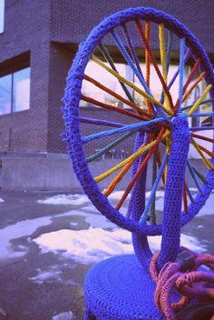 ZOLA, [Capitaine Crochet], Duchamp Reloaded Reloaded, 2012  Rue Saint-Denis, Montréal, Canada
