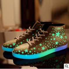 Cheap Women's Fashion Sneakers, Buy Directly from China Suppliers:New arrived Brand Unisex Mens Fashion 7c Luminous USB Charging Colorful LED Lighted Shoes Casual Sneakers sport shoesUS