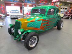 Ford : Other 5 Window 1934 Ford 5 Window Coupe, Al - http://www.legendaryfinds.com/ford-other-5-window-1934-ford-5-window-coupe-al-4/