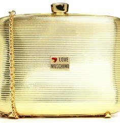 via @Roposo Metal Box, Clutch Bag, Moschino, Latest Fashion, Chain, Elegant, Party, Bags, Women