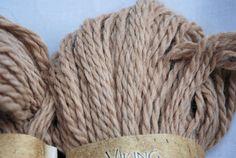 WOOL // YARN SALE Undyed Organic Aplaca  -Eco-Alpaca by Viking <3