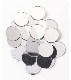 c1d89b6ed85 Big Value Mirrors-1 inch Round-25 pc Small Round Mirrors