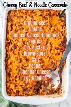 Dinner Dishes, Pasta Dishes, Main Dishes, Beef And Noodles, Egg Noodles, Easy Casserole Recipes, Casserole Dishes, Beef Noodle Casserole, Broccoli Benefits