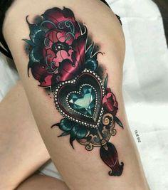 50 Unique Steampunk Tattoo Ideas - New Tatto Designs 2 .- 50 einzigartige Steampunk Tattoo-Ideen – Neu Tatto Designs 2018 Steampunk tattoo on foot - Paar Tattoos, 3d Tattoos, Cover Up Tattoos, Great Tattoos, Sexy Tattoos, Beautiful Tattoos, Mini Tattoos, Body Art Tattoos, Sleeve Tattoos