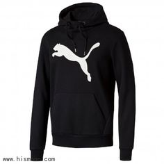You'll rise to the top of your game with this men's PUMA hoodie. Fleece Hoodie, Hoodie Jacket, Pullover, Puma Original, Track Suit Men, Fresh Shoes, Puma Mens, Gym Wear, Sport Wear