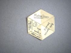 Picture of How to make a hexaflexagon