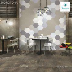 Hexagon Tiles, Your Space, Ceramics, Home Decor, Ceramica, Pottery, Decoration Home, Room Decor, Ceramic Art