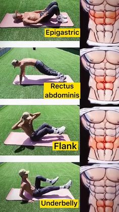Abs And Obliques Workout, Full Body Gym Workout, Gym Workout Videos, Abs Workout Routines, Gym Workout For Beginners, Gym Workouts For Men, Easy Workouts, Intense Ab Workout, Gymnastics Workout