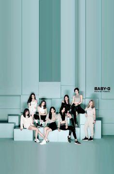 CASIO - SHEEN x Girls Generation IPhone wallpaper